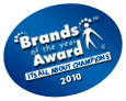 Brands of the Year Award Winners 2010 - Brands Award