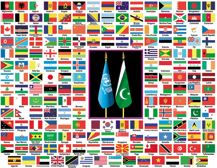 United Nations Members Flags United nations members...